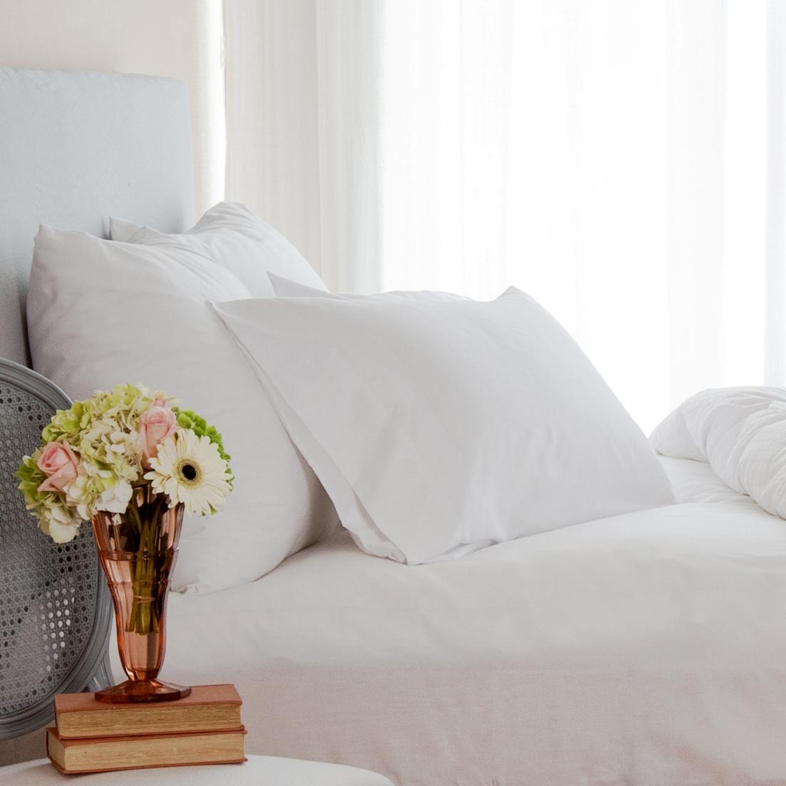St Geneve Lajord Canadian Down Pillow Soma Organic