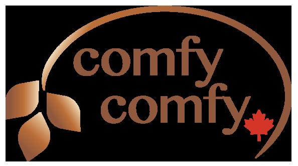 ComfyComfy; Comfy Comfy; Organic Buckwheat Pillows; ComfyComfy Canada; ComfyComfy Logo