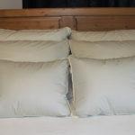 Crescent Moon Alpaca Wool Pillow