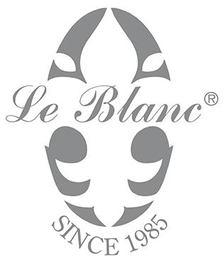 Le Blanc; LeBlanc; Le Blanc Linen Wash; Le Blanc Inc; Le Blanc Luxury Laundry Care; Le Blanc logo